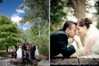Houston Wedding Park Photographs