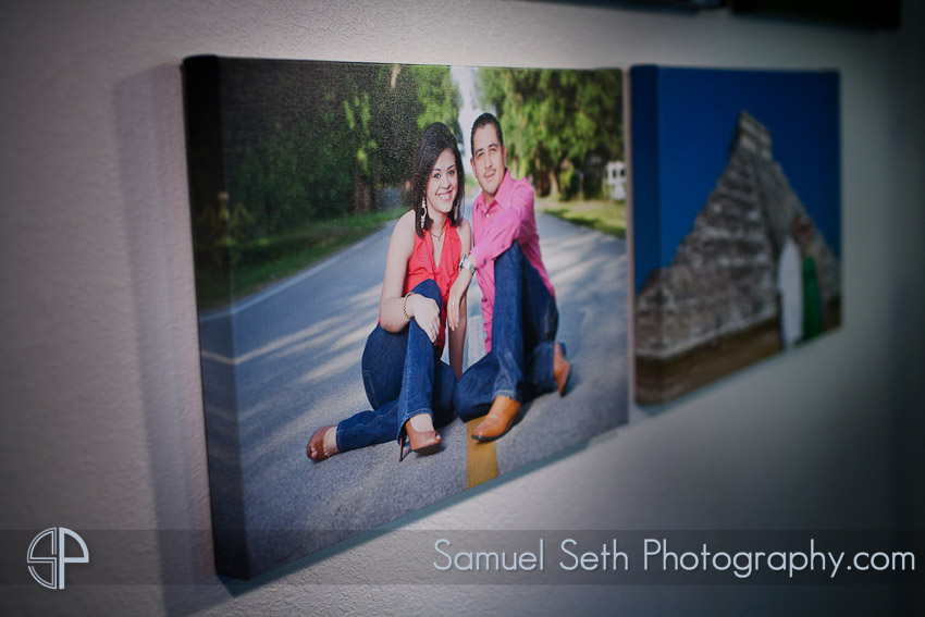 Houston Wedding Photographer Canvas Print