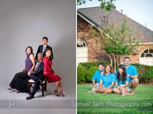 Two Houston Family Portraits