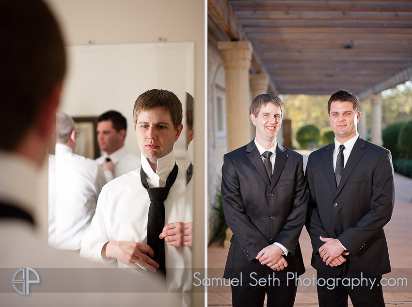 Groom Portraits at Ashton Gardens