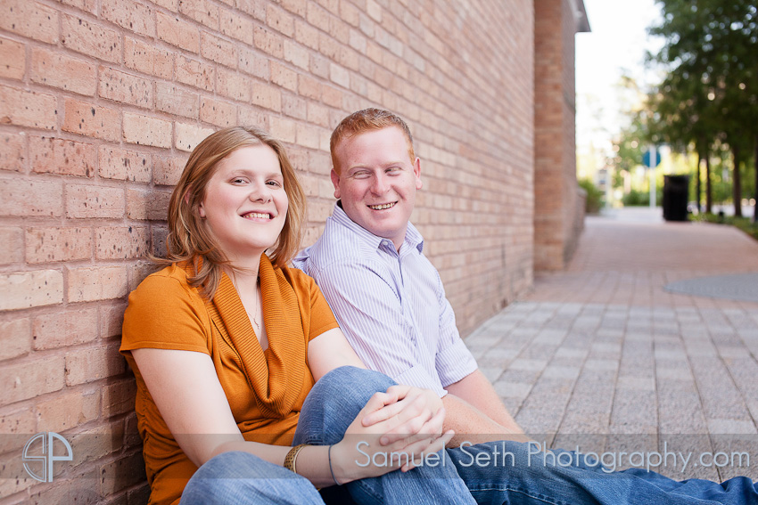 Engagement Portraits in The Woodlands