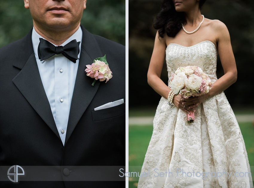 Bride and Groom Portraits at The Houstonian